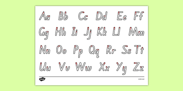 Letter Formation Alphabet Handwriting Sheet Uppercase and Lowercase New Zealand - nz, new zealand, letter formation, alphabet, handwriting, worksheet