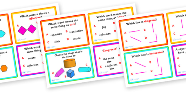 Shape Space and Measure Challenge Cards - shape space and measure, shape challenge cards, space challenge cards, measure cards, shape, space, measure