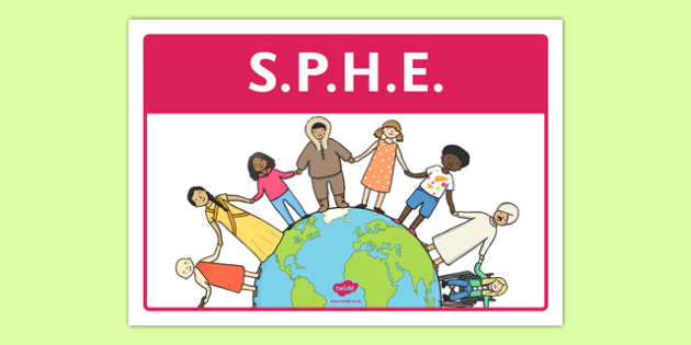 SPHE Classroom Area Sign - gaeilge, roi, irish, area, sign, classroom, display, sphe