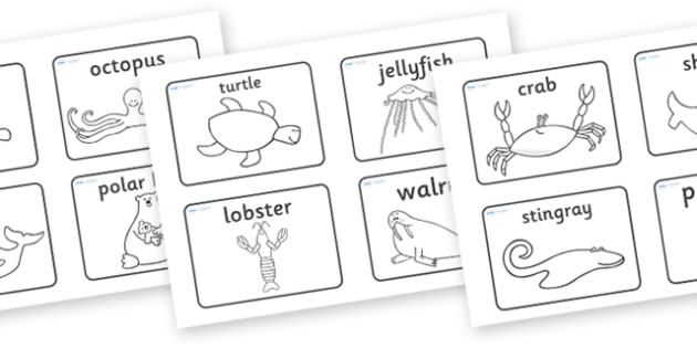 Story Sequencing (4 per A4) to Support Teaching on Commotion In The Ocean - Story, book, sequencing, visual aids, resources, Giles Andreae, David Wojtowycz, story sequencing, teaching resources, book resources, sea creatures, sea, book resource