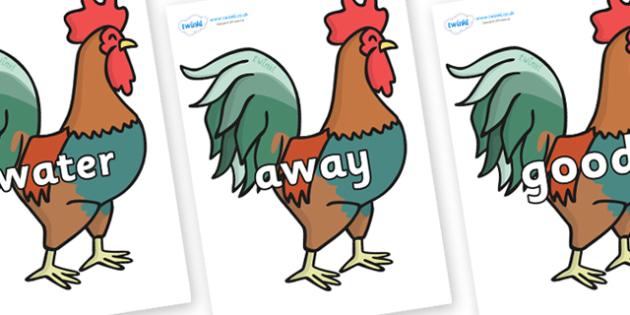 Next 200 Common Words on Cockerels - Next 200 Common Words on  - DfES Letters and Sounds, Letters and Sounds, Letters and sounds words, Common words, 200 common words