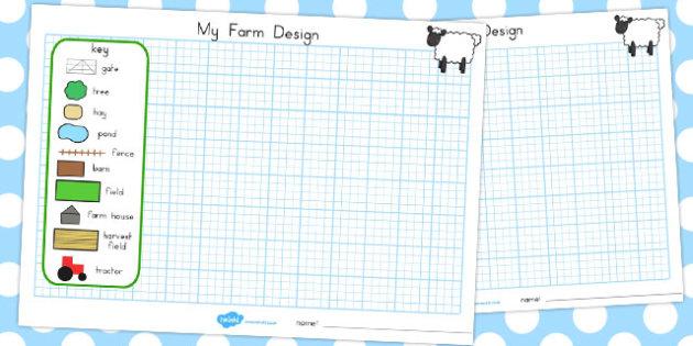 Design a Farm - Design, Technology, Farm, Designs, Sheep, Pig