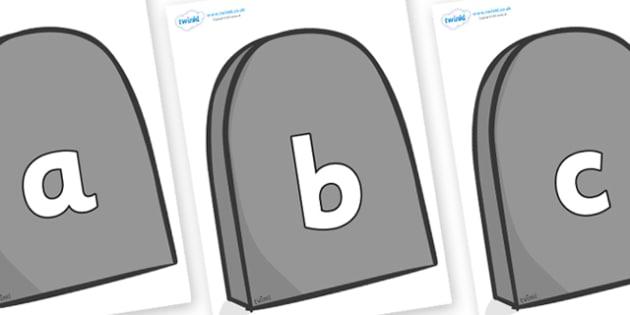 Phoneme Set on Gravestones - Phoneme set, phonemes, phoneme, Letters and Sounds, DfES, display, Phase 1, Phase 2, Phase 3, Phase 5, Foundation, Literacy