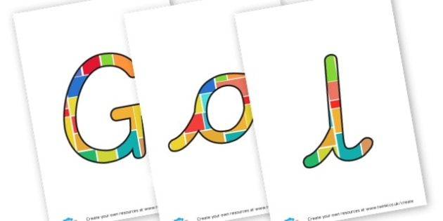 Golden Time Lettering - Golden Time Primary Resources, Certificates, Awards, Primary