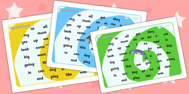 Realistic Dinosaurs Themed Foundation Stage Word Mat - dinosaur