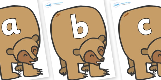 Silent Letters on Brown Bear to Support Teaching on Brown Bear, Brown Bear - Silent Letters, silent letter, letter blend, consonant, consonants, digraph, trigraph, A-Z letters, literacy, alphabet, letters, alternative sounds