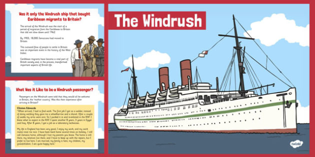 The Windrush PowerPoint - Windrush, Black History,  PowerPoint
