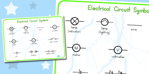 Electricity Circuit Word Mat - australia, electricity, circuit