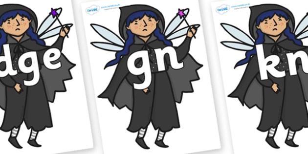 Silent Letters on Evil Fairy - Silent Letters, silent letter, letter blend, consonant, consonants, digraph, trigraph, A-Z letters, literacy, alphabet, letters, alternative sounds