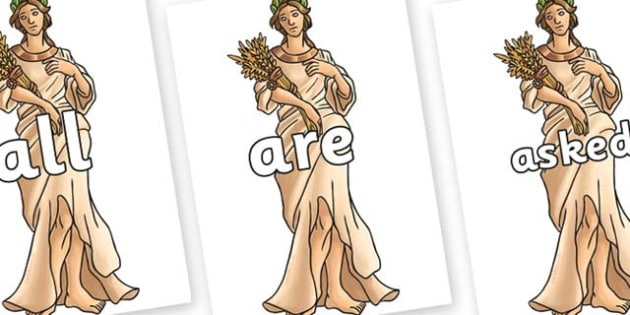 Tricky Words on Demeter - Tricky words, DfES Letters and Sounds, Letters and sounds, display, words