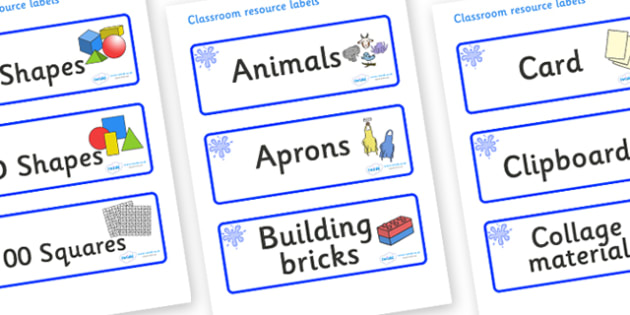 Blue Themed Editable Classroom Resource Labels - Themed Label template, Resource Label, Name Labels, Editable Labels, Drawer Labels, KS1 Labels, Foundation Labels, Foundation Stage Labels, Teaching Labels, Resource Labels, Tray Labels, Printable labe