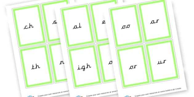 Phonics Phase 3 - Phase 3 Visual Aids Primary Resources, Phase One, Letters, sounds