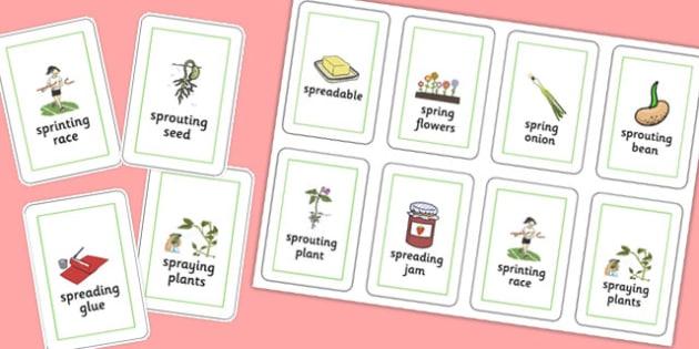 Three Syllable SPR Playing Cards - sen, sound, spr sound, spr, three syllable, playing cards