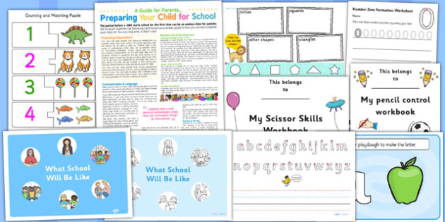 School Preparation Pack for Childminders - school preparation, childminders