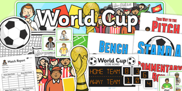 Football World Cup Role Play Pack - football, world cup, roleplay