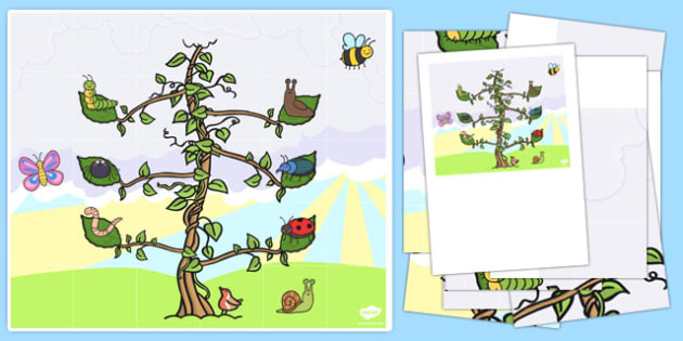Beanstalk Bee Bot Mat - EYFS, KS1, ICT, computing, Jasper's Beanstalk, Jack and the Beanstalk, plants and growth