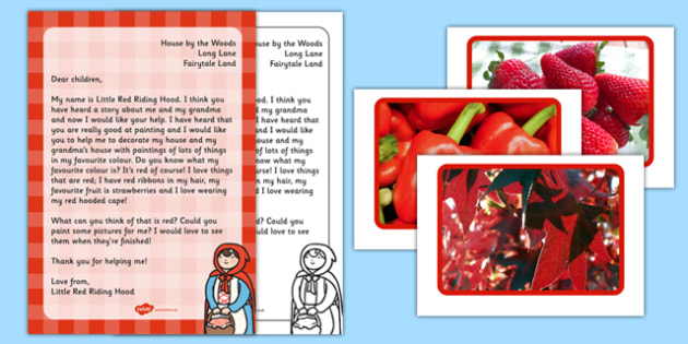 Little Red Riding Hoods Favourite Colour Activity Resource - little red riding hood, colour