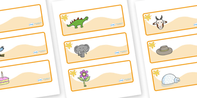 Amber Themed Editable Drawer-Peg-Name Labels - Themed Classroom Label Templates, Resource Labels, Name Labels, Editable Labels, Drawer Labels, Coat Peg Labels, Peg Label, KS1 Labels, Foundation Labels, Foundation Stage Labels, Teaching Labels
