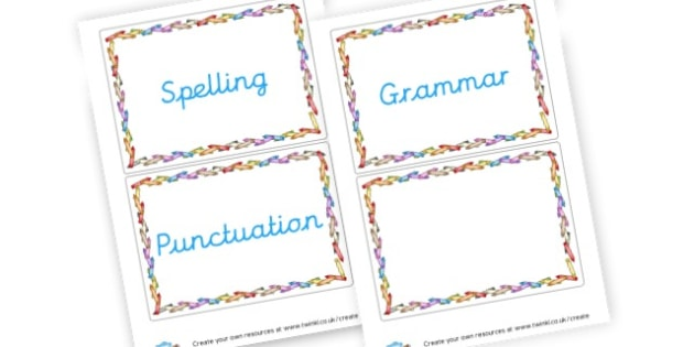 SPAG - SPaG Primary Resources, Spelling, Punctuation, Grammar, Literacy