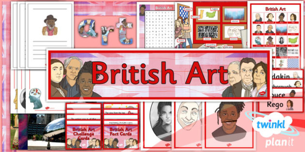PlanIt - Art LKS2 - British Art Unit: Additional Resources