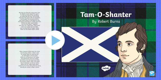 Tam-O-Shanter Robert Burns Poem PowerPoint - cfe, tam-o-shanter, robert burns, burns night, powerpoint, poem