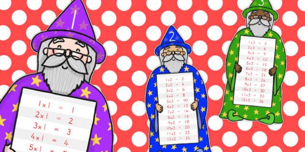 Magic Multiplication Wizards - australia, multiplication, wizard