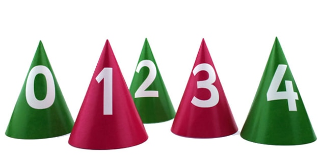 Bee Bot Numbered Cones - counting aid, count, numbers, maths
