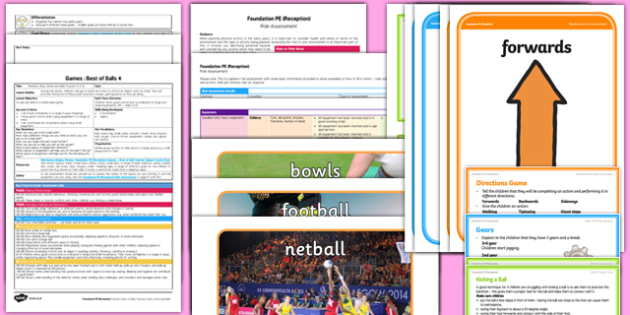 Foundation PE (Reception) - Games - Best of Balls Lesson Pack 6: It's a Goal! - EYFS, PE, Physical Development, Planning