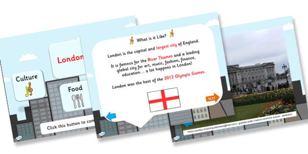 London Information PowerPoint - london, london powerpoint, london facts, london information, england, great britain, british captial, capital cities, ks2