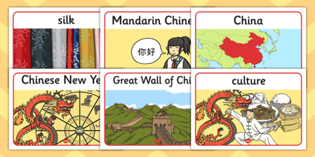 Let's Go to China Display Posters - go, china, display posters, display