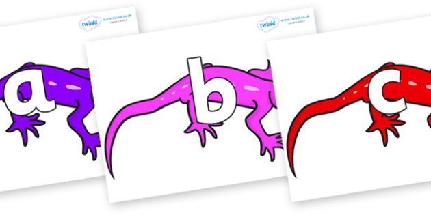 Phoneme Set on Geckos - Phoneme set, phonemes, phoneme, Letters and Sounds, DfES, display, Phase 1, Phase 2, Phase 3, Phase 5, Foundation, Literacy