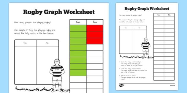 Rugby Graph Worksheet - australia, rugby, graph, worksheet, sheet