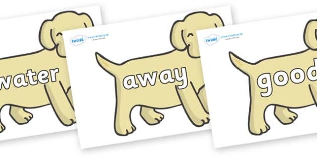 Next 200 Common Words on Puppies - Next 200 Common Words on  - DfES Letters and Sounds, Letters and Sounds, Letters and sounds words, Common words, 200 common words