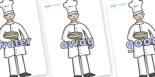 Next 200 Common Words on Bakers - Next 200 Common Words on  - DfES Letters and Sounds, Letters and Sounds, Letters and sounds words, Common words, 200 common words