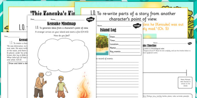 Kensuke's Kingdom Rewriting Story from Kensukes Perspective Lesson