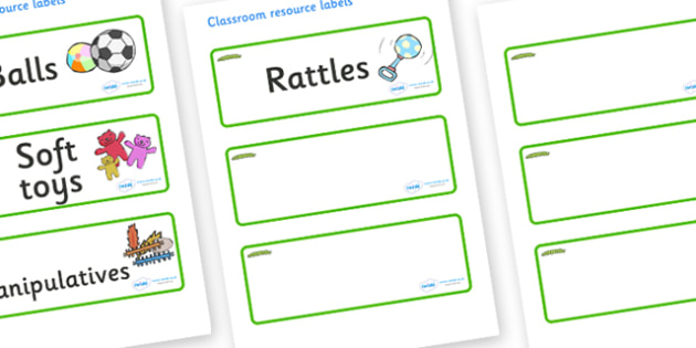 Caterpillar Themed Editable Additional Resource Labels - Themed Label template, Resource Label, Name Labels, Editable Labels, Drawer Labels, KS1 Labels, Foundation Labels, Foundation Stage Labels, Teaching Labels, Resource Labels, Tray Labels, Printa
