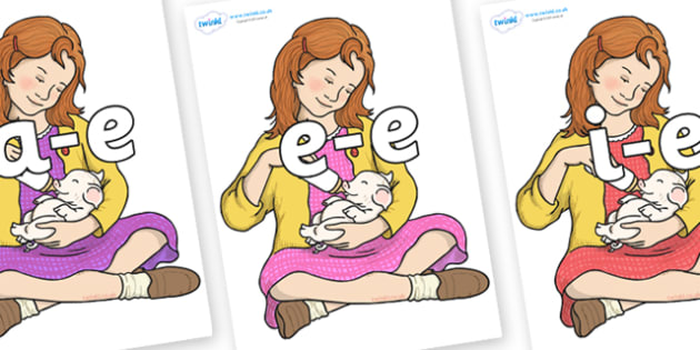 Modifying E Letters on Fern Arable - Modifying E, letters, modify, Phase 5, Phase five, alternative spellings for phonemes, DfES letters and Sounds