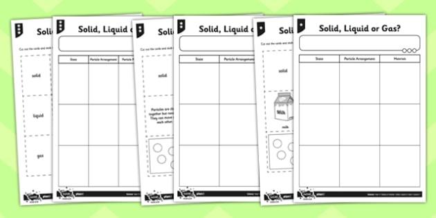 Printables Solid Liquid Gas Worksheet safarmediapps Worksheets – Solid Liquid Gas Worksheet for Kindergarten