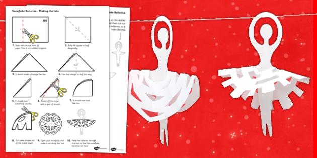 Christmas Ballerina Bunting Template - christmas, bunting display