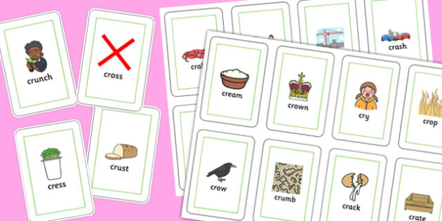 CR Playing Cards - sen, sound, special educational needs, cr, playing cards