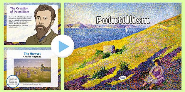 Pointillism PowerPoint