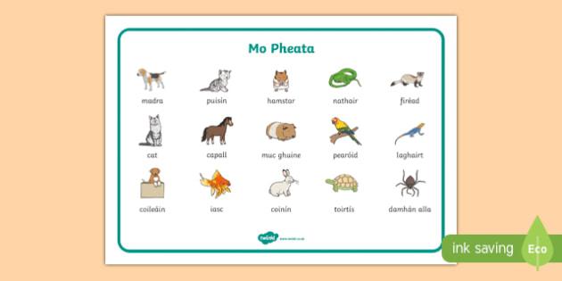 Mo Pheata Word Mat