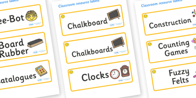 Welcome to our class- Smiley Face Themed Editable Additional Classroom Resource Labels - Themed Label template, Resource Label, Name Labels, Editable Labels, Drawer Labels, KS1 Labels, Foundation Labels, Foundation Stage Labels, Teaching Labels, Reso