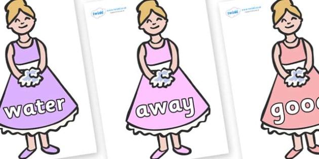 Next 200 Common Words on Bridesmaids - Next 200 Common Words on  - DfES Letters and Sounds, Letters and Sounds, Letters and sounds words, Common words, 200 common words