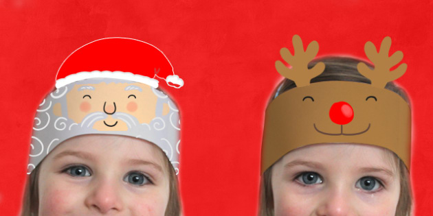 Christmas Headbands - roleplay, activity, activities, festivities