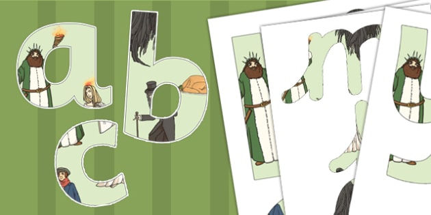 A Christmas Carol Display Lettering Numbers Symbols - display, scrooge, Charles Dickens