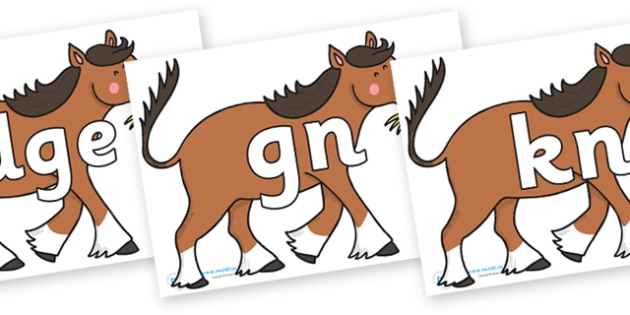 Silent Letters on Hullabaloo Carthorse to Support Teaching on Farmyard Hullabaloo - Silent Letters, silent letter, letter blend, consonant, consonants, digraph, trigraph, A-Z letters, literacy, alphabet, letters, alternative sounds