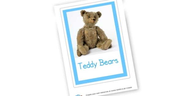 Teddy Bears - Teddy Bear Primary Resources - teddy, nursery, posters, display