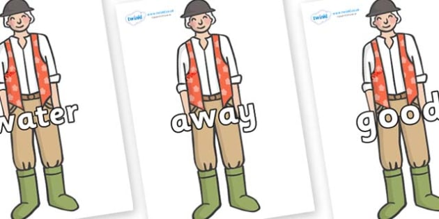 Next 200 Common Words on Farmer to Support Teaching on Pig in the Pond - Next 200 Common Words on  - DfES Letters and Sounds, Letters and Sounds, Letters and sounds words, Common words, 200 common words