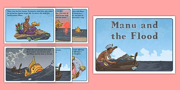 Manu and the Flood Story - manu, flood, story, sikh, sikhism, tradition